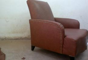 חידוש כורסא עם מסמר קישוט זהב